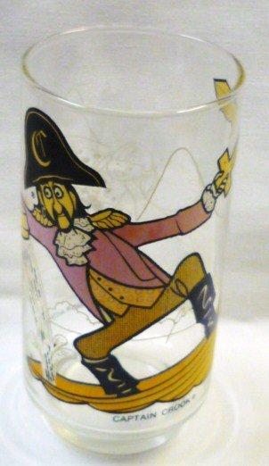 1977 McDonaldland Action Series Captain Crook Glass