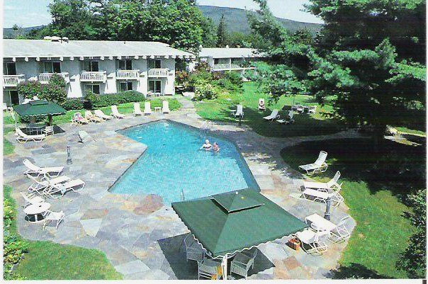 paradise motor inn inc post card bennington vermont