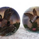 Mallard Duck Plaques by Cornerstone Creations Set of 2-Home Decor