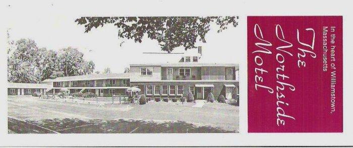 Advertising Card - The Northside Motel Willstown Massachusetts