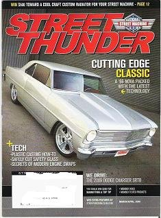 Street Thunder Mag March/April 2009 2009 Charger 66 Nova