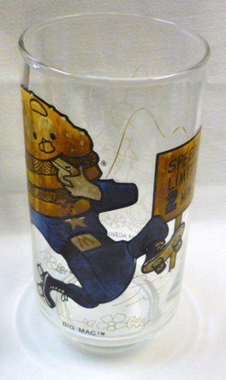 1977 Big Mac Glass McDonaldland Action Series
