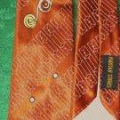 Puritan Stores Copper Tie Vintage Deco Style