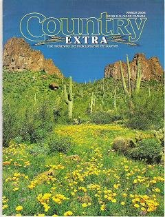 Country Extra Magazine For Those Who Live or Long for the Country March 2006
