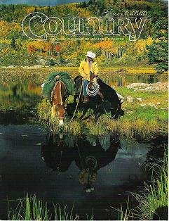 Country Magazine For Those Who Live or Long For the Country Oct Nov 2000