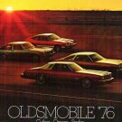 Oldsmobile 76 Cutlass Omega Starfire Brochure Original