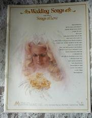 Wedding Songs and Other Songs of Love by Hal Spencer Manna Music Inc 1979