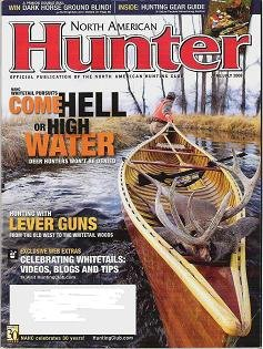 North American Hunter Mag-June July 2008 Lever Guns, whitetails ++