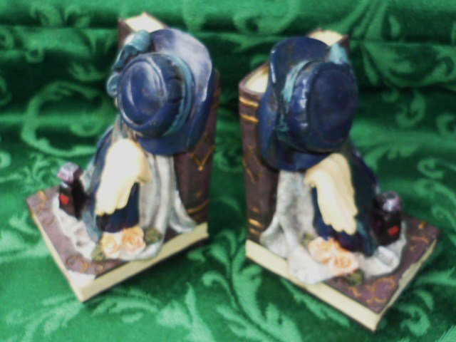 Vintage Look Bookends 1940s Style Elegant and Quaint
