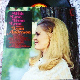 With Love From Lynn lp by Lynn Anderson 1969 chs 1013 Exc Cond