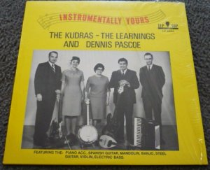 Instrumentally Yours lp 2025 Dennis Pascoe The Kudras The Learnings 1950s