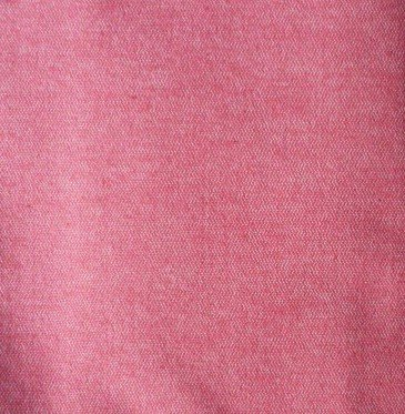Red Fabric Material Remnant 56 x 14 plus 11 x 22 Denim Look