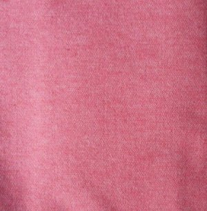 Red Fabric Material Remnant 56 x 14 plus 11 x 22 Denim Look
