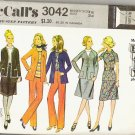 McCalls 1971 Pattern 3042 Misses Sz 12 Coordinated Separates