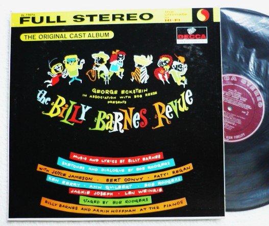 The Billy Barnes Revue lp Cast Album Rare Decca Record dl 79076 Full Stereo