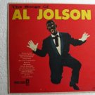 The Songs of Al Jolson lp Coronet Records cx 45 Tribute Rare Album