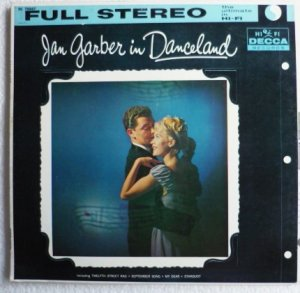 Jan Garber in Danceland dl 78867 lp 1950s - Rare - One Owner