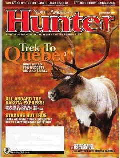 North American Hunter Magazine September 2009 Whitetails Quebec Dakota