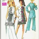 Simplicity Pattern 8635 Uncut 1969 Ladies Size 14 Pants Mini Dress