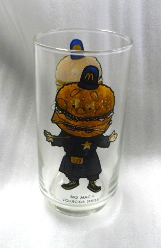 Mcdonalds Big Mac Collector Series Promo Glass