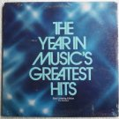 The Year in Musics Greatest Hits lp New Unopened- Easy Listening The Realistics 1P-7017