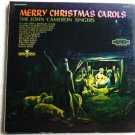 Merry Christmas Carols lp Con 15017 - The John Cameron Singers 1960s?
