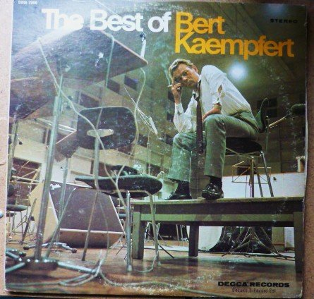 The Best of Bert Kaempfert lp dxsb 7200 Two Record Set 1970s