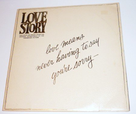 Love Story lp Dialogue and Music from Soundtrack Recording 1970 Two Albums pas 7000