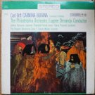 Carl Orff - Carmina Burana lp with the Philadelphia Orchestra ms 6163