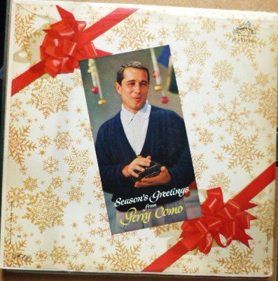 Seasons Greetings From Perry Como 1959 lp lpm-2066 One Owner