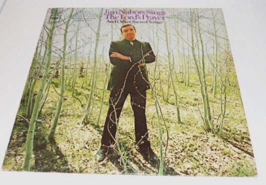 Jim Nabors Sings the Lords Prayer and Other Sacred Songs 1960s lp cs 9716