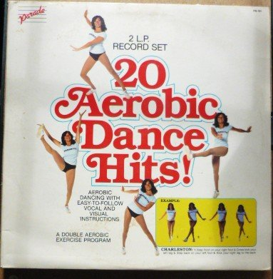 20 Aerobic Dance Hits Two Record set Aerobic Exercise Program pa-101