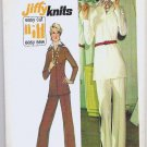 Uncut Simplicity Pattern 6550 Misses Size 12 Top and Pants 1974
