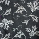 Dress Prints for Clothing and Home Sewing Projects 40x45 inch Black and Taupe Fabric