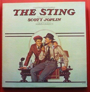 The Sting lp 1973 with Paul Newman Robert Redford and Robert Shaw mca-390