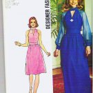 1973 Simplicity Pattern 6033 Sz 12 Two Length Dress Designer Fashion