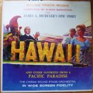 Hawaii Soundtrack lp Elmer Bernstein - James A Michener - Pacific Paradise -  sf-26900