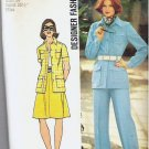 Simplicity Pattern 5588 Size 12 Shirt Jacket Skirt Pants 1973