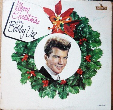 Merry Christmas from Bobby Vee lp lrp-3267