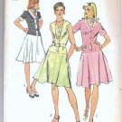 Simplicity Uncut Pattern 6090 Size 12 One Piece Dress