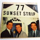 77 Sunset Strip lp 1959 Original Warner Bros 1289 Smith Byrnes Zimbalist