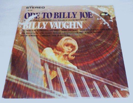 Ode to Billy Joe - Carol Lombard - Billy Vaughn 1967 lp dlp-25828