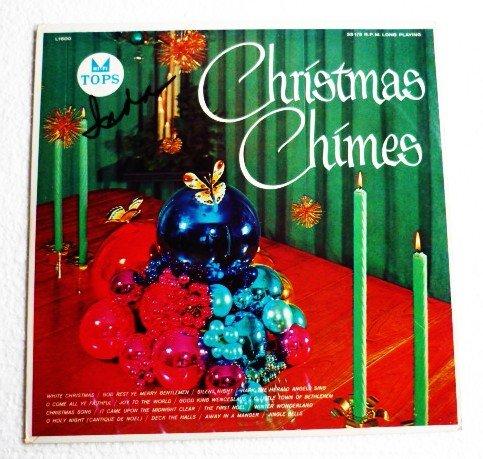 Christmas Chimes and Organ lp - Felix Vance Tops L1600 circa 1954