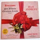 Firestone Presents Your Favorite Christmas Carols 1966 lp Volume 5 slp-7012