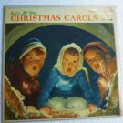 Malvin Carolers Lets All Sing Christmas Carols 1956 lp ls2005