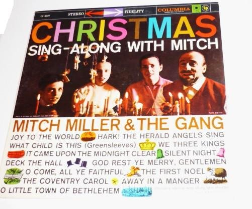 Christmas Sing Along With Mitch - Mitch Miller and the Gang 1959 lp cs8027