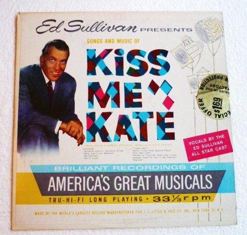 Ed Sullivan presents Kiss Me Kate 1960 lp - es2