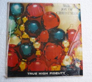 The Joy of Christmas 1960s lp xm-912