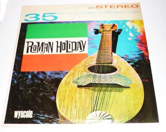 Roman Holiday lp by Carlo Monti 1964 sw-9003