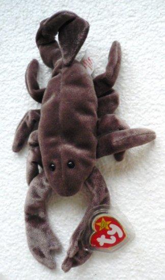 Stinger the Scorpion Ty Beanie Baby Original ~ Retired 1997